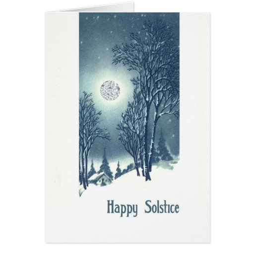 Happy Solstice Holiday Card