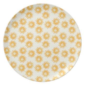 Happy Solstice Plate