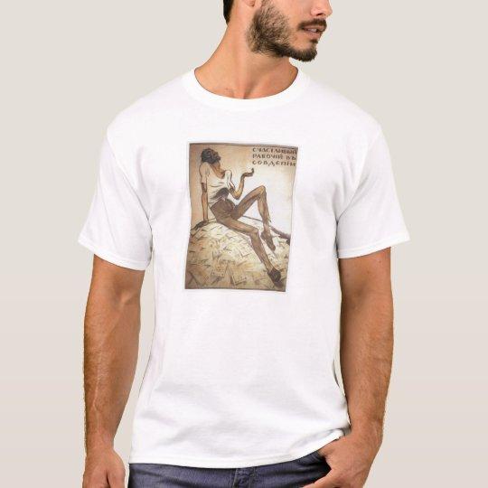 Happy Soviet Worker 1919 T-Shirt