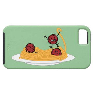 Happy Spaghetti and Meatballs iPhone SE/5/5s Case