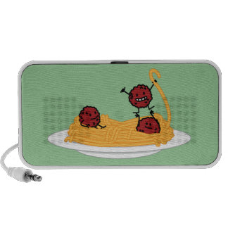 Happy Spaghetti and Meatballs Speaker System