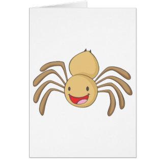 Happy Spider Card