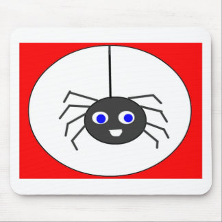 happy-spider mouse pads