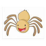 Happy Spider Post Card