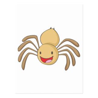 Happy Spider Postcard