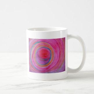 Happy Sprial Bulls Eye Mug