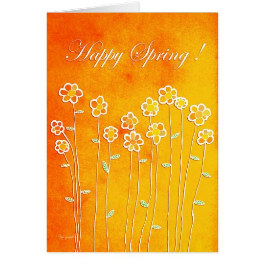 Happy Spring ! Card