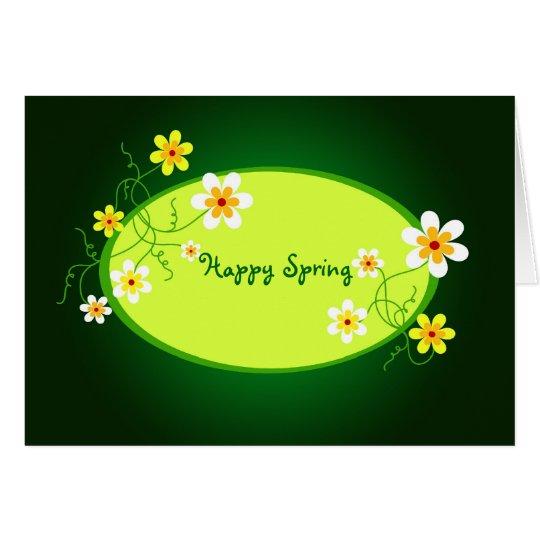 Happy Spring - Card