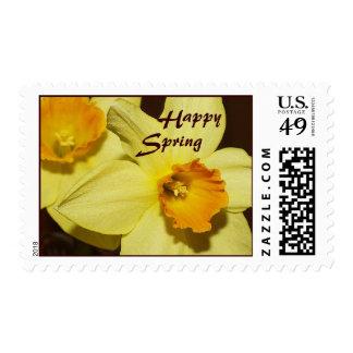 Happy Spring Daffodils Postage