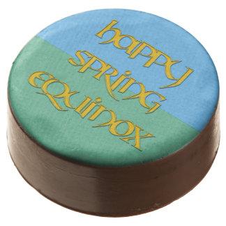 Happy Spring Equinox Oreo Cookies Chocolate Covered Oreo