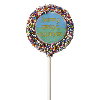 Happy Spring Equinox Party Oreo Cookie Pops Chocolate Covered Oreo Pop