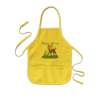Happy Spring Goat Aprons