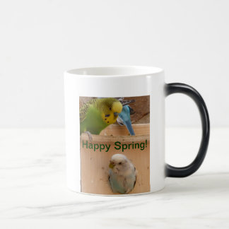 Happy Spring! Morphing, color changing mug