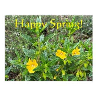 Happy Spring! Postcard
