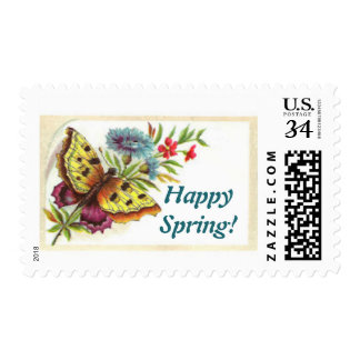 Happy Spring stamp