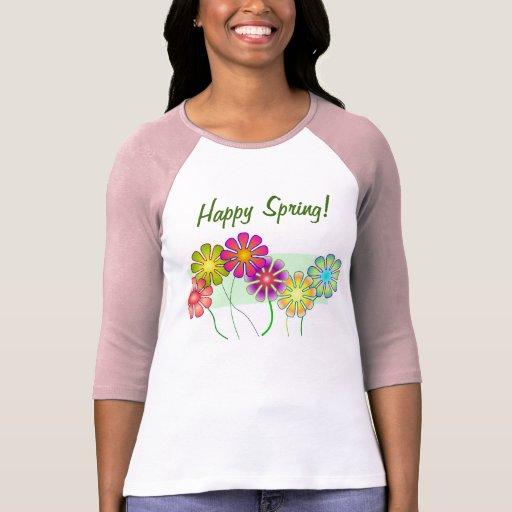 Happy Spring! T-shirts