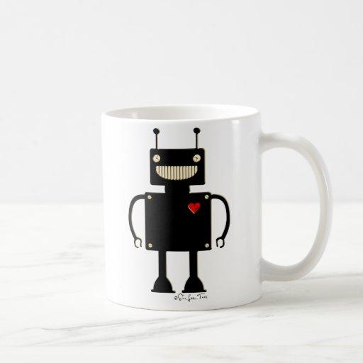 Happy Square Robot 1 Coffee Mug