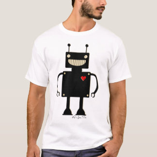 Happy Square Robot 1 T-Shirt