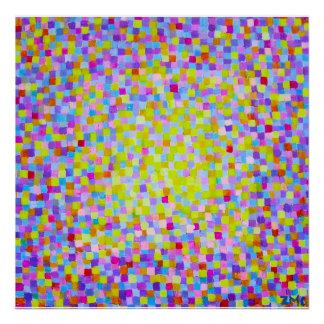 Happy Squares Canvas Posters