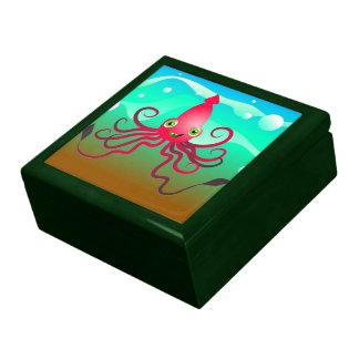 Happy Squid Jewelry Box