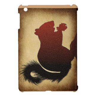 Happy squirrel ipad cover design