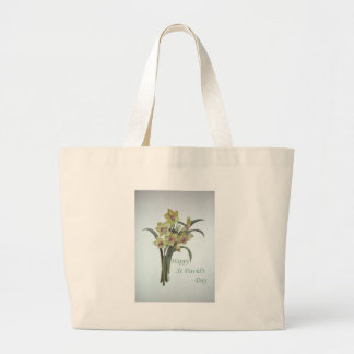 Happy St David's Day Canvas Bags