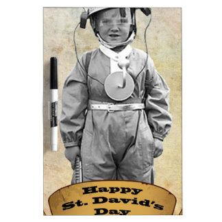 Happy St David's day Dry-Erase Board