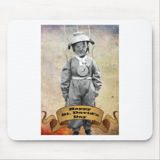 Happy St David's day Mouse Pad