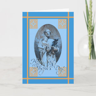 Saint joseph feast day cards zazzle happy st josephs feast day greeting card m4hsunfo