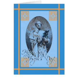 Happy St. Joseph's Feast Day Greeting Card