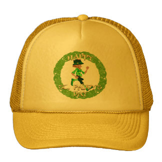 Happy St Paddy s Day Cap Mesh Hat