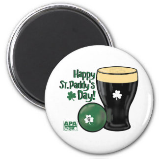 Happy St. Paddy's Day 2 Inch Round Magnet