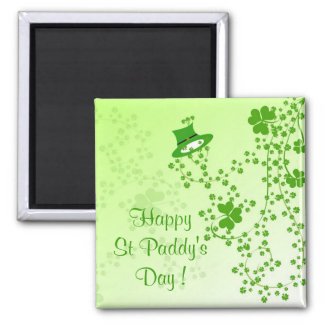 Happy St Paddy's Day ! 2 Inch Square Magnet