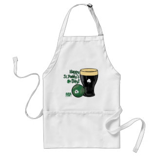 Happy St. Paddy's Day Adult Apron