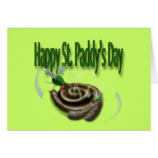Happy St. Paddy's Day Greeting Card