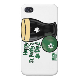 Happy St. Paddy's Day iPhone 4/4S Cover