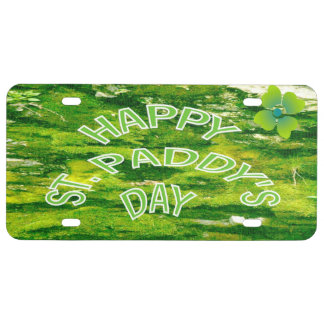 HAPPY ST. PADDY'S DAY License Plate