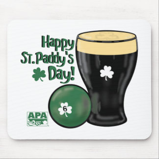 Happy St. Paddy's Day Mouse Pad