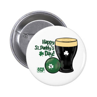 Happy St. Paddy's Day Pinback Button