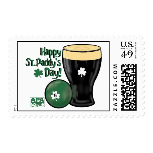 Happy St. Paddy's Day Postage Stamps