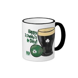 Happy St. Paddy's Day Ringer Coffee Mug