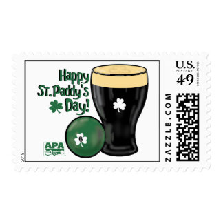 Happy St. Paddy's Day Stamp