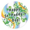 Happy St. Paddy's Day sticker