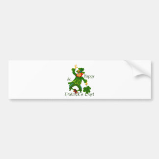 Happy St Partrick's Day Bumper Sticker