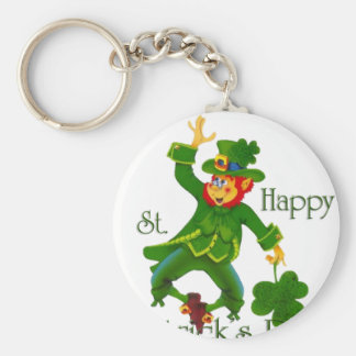 Happy St Partrick's Day Keychain
