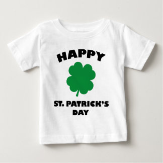 Happy St. Patick's Day Baby T-Shirt