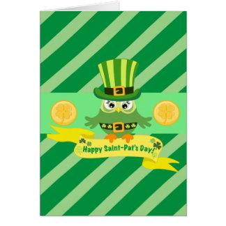 Happy St Patrick Day Card