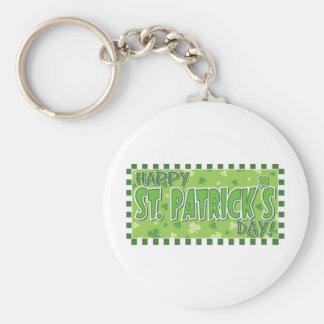Happy St Patrick Day! Keychain