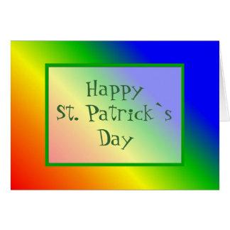 Happy St. Patrick`s Day Card