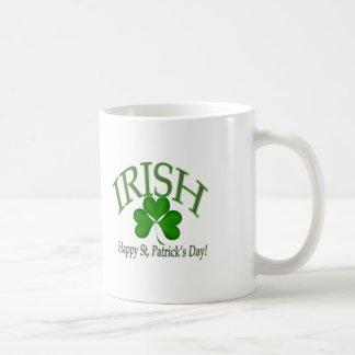 Happy St Patrick s Day Irish Lucky Clover Gifts Mugs